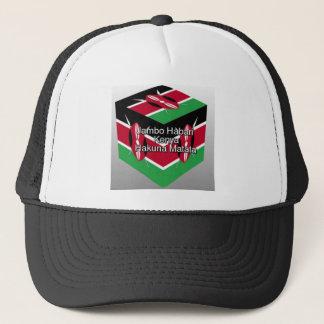 Jambo Habari ! Kenya Hakuna Matata Trucker Hat