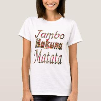 ¡Jambo! Hakuna Matata Playera