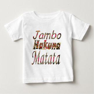 ¡Jambo! Hakuna Matata Playera De Bebé
