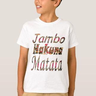 ¡Jambo! Hakuna Matata Poleras