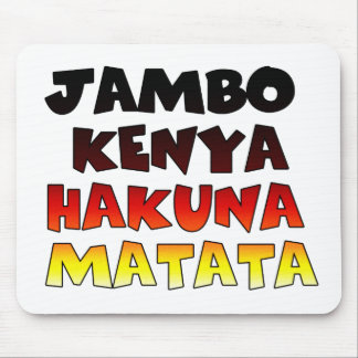 Jambo Kenia Hakuna Matata Alfombrilla De Ratones