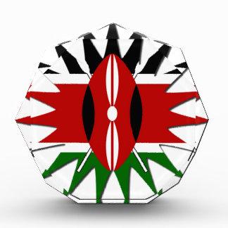 Jambo Kenya Hakuna Matata Acrylic Award