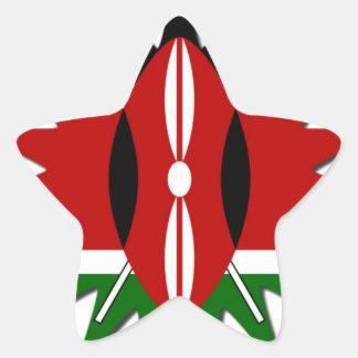 Jambo Kenya Hakuna Matata Star Sticker