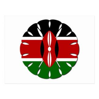 Jambo Kenyan Flag Postcard