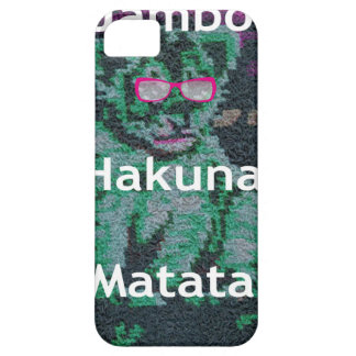 Jambo lion cub hakuna matata iPhone SE/5/5s case