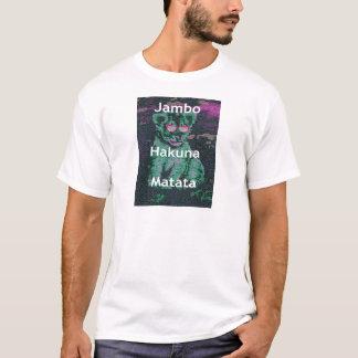 Jambo lion cub hakuna matata T-Shirt