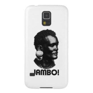 ¡JAMBO! Saludo del suajili Funda De Galaxy S5