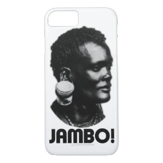 JAMBO! Swahili Greeting iPhone 7 Case