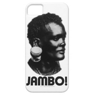 JAMBO! Swahili Greeting iPhone SE/5/5s Case