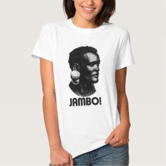 JAMBO! Swahili Greeting T Shirt