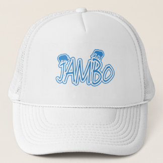 Jambo swahili Hello blue Trucker Hat