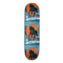 Jamectomy Horse Poster Design Skateboard