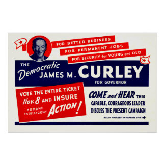 James 1934 Michael Curley Poster
