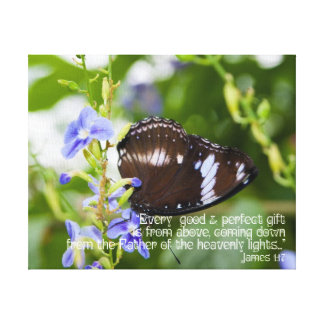 James 1:17 Every Good and Perfect Gift Canvas Canvas Prints