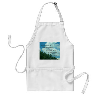James 1:17 Every good and perfect gift is from.... Adult Apron
