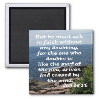 James 1:6 magnet