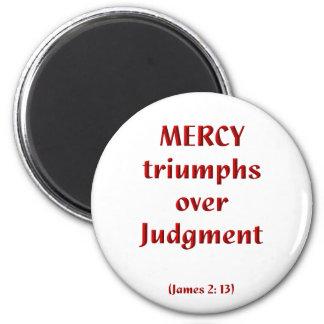 James 2-13 imanes de nevera