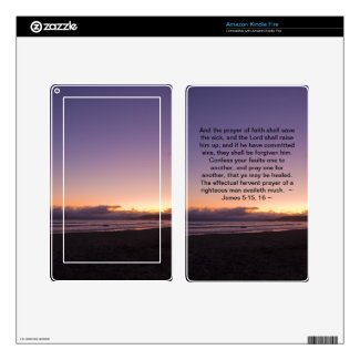 James 5:15- 16 kindle fire decals