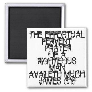 James 5:16 magnet