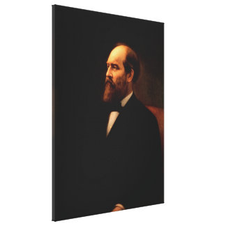 JAMES A. GARFIELD Portrait by Calvin Curtis Print