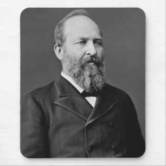 James A. Garfield Alfombrilla De Ratón