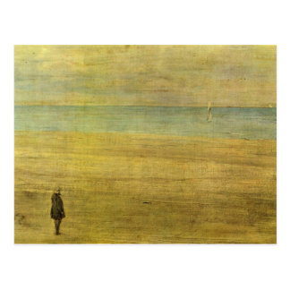 James Abbot McNeill Whistler - Harmony in Blue and Postcard