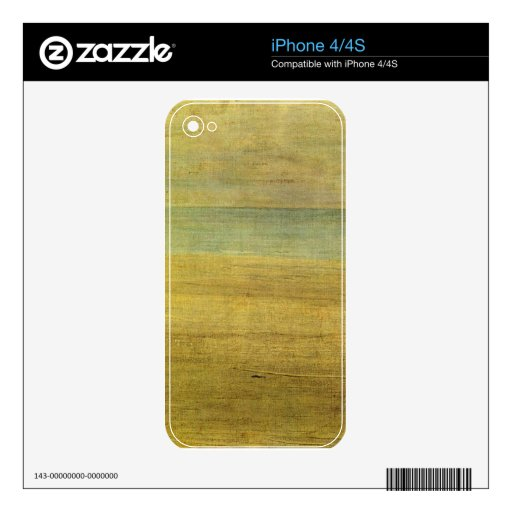 James Abbot McNeill Whistler - Harmony in Blue and Skin For iPhone 4S