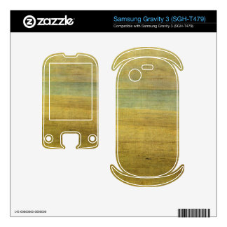 James Abbot McNeill Whistler - Harmony in Blue and Samsung Gravity 3 Decals