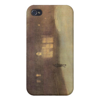 James Abbot McNeill Whistler - Nocturne in gray an iPhone 4/4S Cover