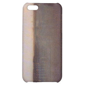 James Abbot McNeill Whistler - Nocturne in gray an iPhone 5C Cover