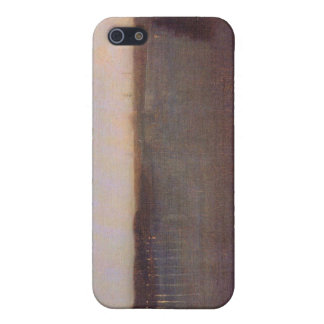 James Abbot McNeill Whistler - Nocturne in gray an Covers For iPhone 5