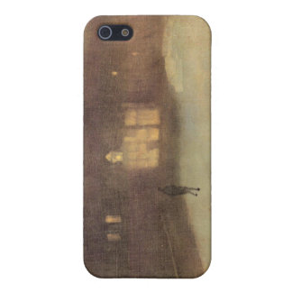 James Abbot McNeill Whistler - Nocturne in gray an Case For iPhone 5