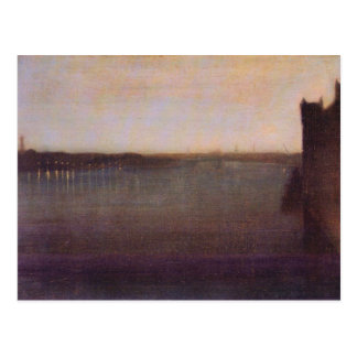 James Abbot McNeill Whistler - Nocturne in gray an Postcards