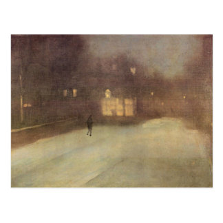 James Abbot McNeill Whistler - Nocturne in gray an Post Card