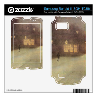 James Abbot McNeill Whistler - Nocturne in gray an Samsung Behold II Decals