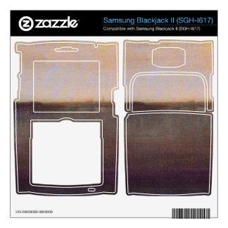 James Abbot McNeill Whistler - Nocturne in gray an Samsung Blackjack II Skin