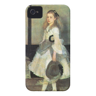 James Abbot McNeill Whistler - Portrait of Miss Al Blackberry Case