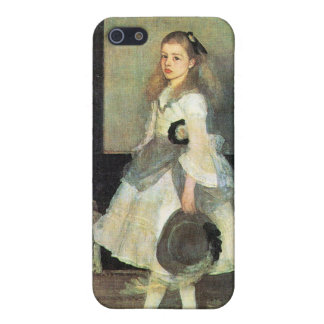 James Abbot McNeill Whistler - Portrait of Miss Al iPhone 5 Covers