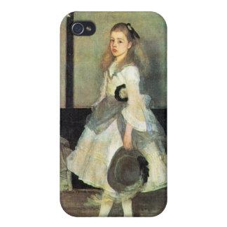 James Abbot McNeill Whistler - Portrait of Miss Al iPhone 4 Case