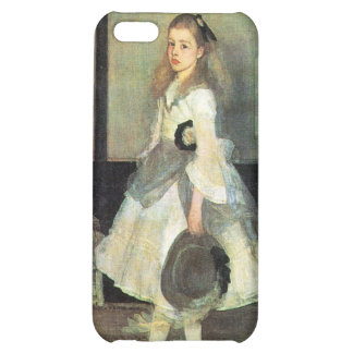 James Abbot McNeill Whistler - Portrait of Miss Al iPhone 5C Cover