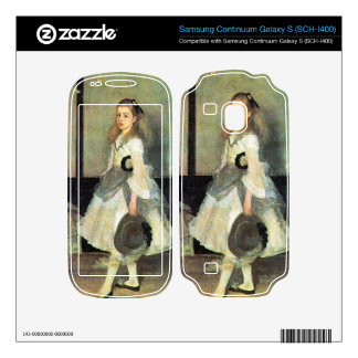 James Abbot McNeill Whistler - Portrait of Miss Al Samsung Continuum Decal