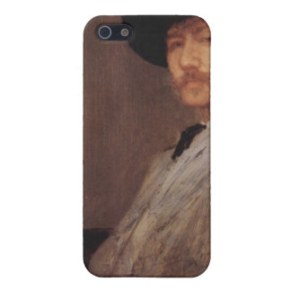 James Abbot McNeill Whistler - Self Portrait Case For iPhone 5