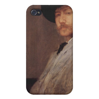 James Abbot McNeill Whistler - Self Portrait iPhone 4 Cases