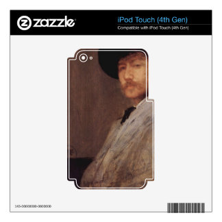James Abbot McNeill Whistler - Self Portrait iPod Touch 4G Skin