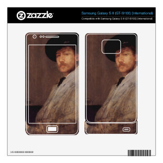 James Abbot McNeill Whistler - Self Portrait Samsung Galaxy S II Decal