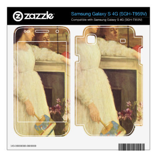 James Abbot McNeill Whistler - Symphony in White N Samsung Galaxy S 4G Skins