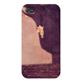 James Abbot McNeill Whistler - Whistlers Mother Cover For iPhone 4