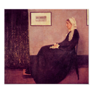 James Abbot McNeill Whistler - Whistler's Mother Posters