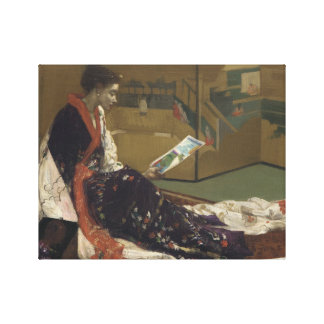James Abbott McNeill Whistler - Caprice in Purple Canvas Print