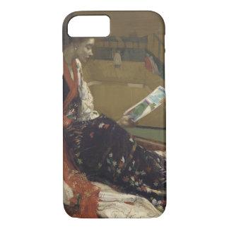 James Abbott McNeill Whistler - Caprice in Purple iPhone 7 Case
